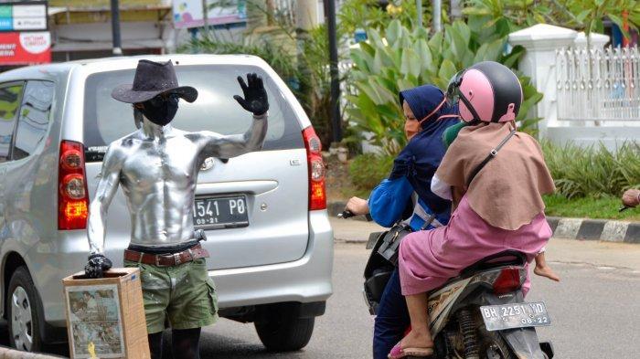 Kisah Petugas di Kota Jambi Sempat Disogok Manusia Silver akan Menyetor Rp70 Ribu per Hari