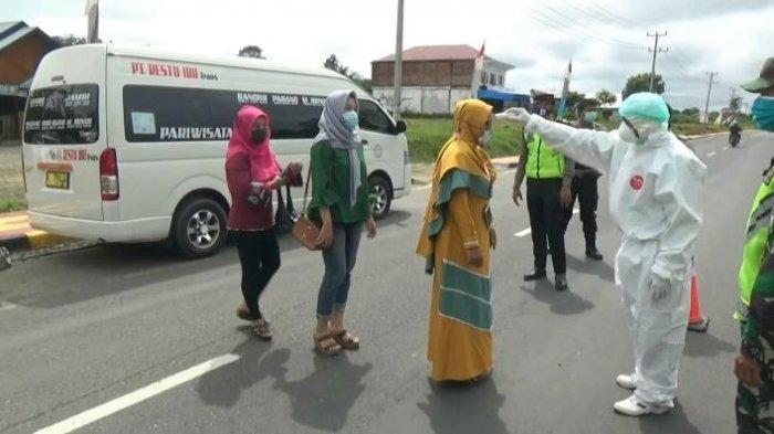BREAKING NEWS Diminta Putar Balik, Sopir Travel Bungo-Jambi Adu Mulut vs Petugas di Jalan Lintas