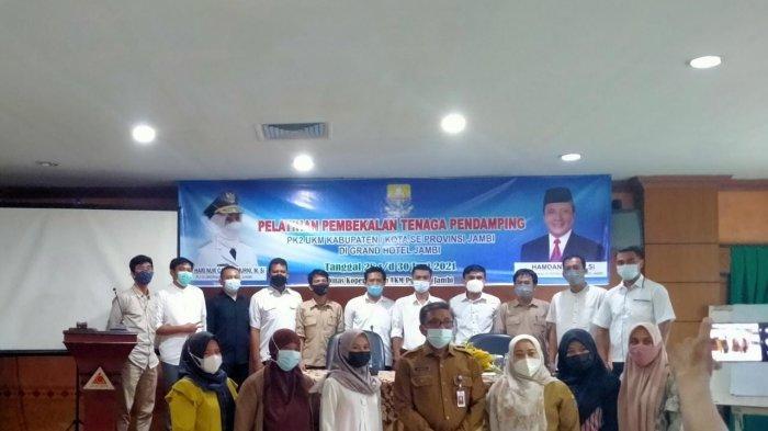 Dinas Koperasi Provinsi Jambi Gelar pelatihan Tenaga Pendamping