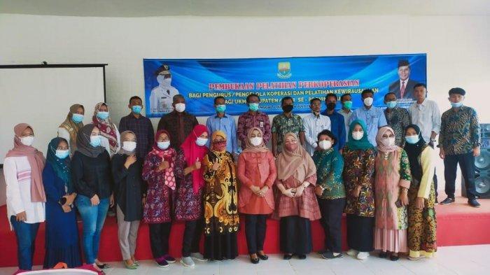 Dinas Koperasi UKM Provinsi Jambi Gelar Pelatihan Koperasi dan UKM di Kerinci