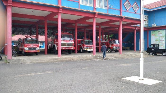Dinas Damkar dan Penyelamatan Kota Jambi Cepat Beri Pelayanan Walau Kekurangan Armada Pemadam