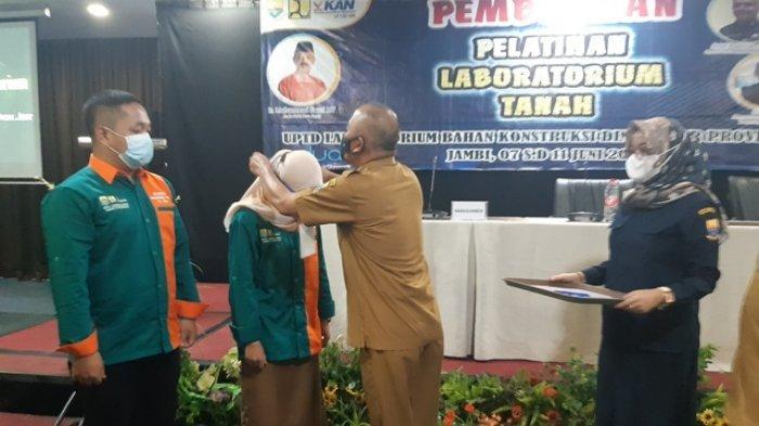 Dinas PUPR Provinsi Jambi Gelar Pelatihan Laboratorium Tanah