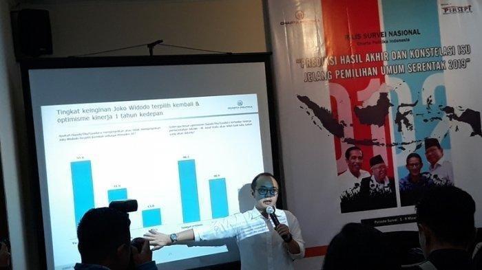 Jelang Pilpres 17 April, Hasil Survei Elektabilitas Versi Lembaga Survei Charta Politika, Sengit