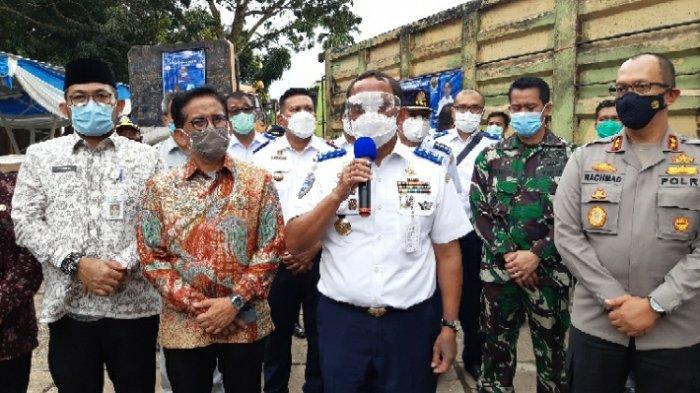 Beri Pelajaran Terhadap Kendaraan Odol, BPTD Wilayah V Jambi Potong Body Dua Truk