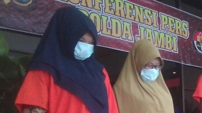 Simpan Sabu Dalam Gendongan Bayi, Dua Ibu Rumah Tangga Asal Aceh Ini Diringkus Polda Jambi