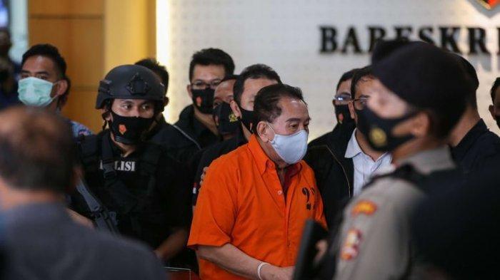 Djoko Tjandra tiba di Bareskrim Mabes Polri, Jakarta, Kamis (30/7/2020). Djoko Tjandra ditangkap di Malaysia.