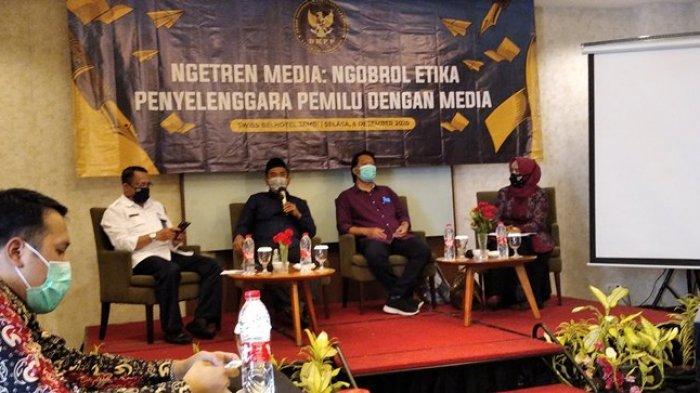 Ngobrol Etika Penyelenggara Pemilu, DKPP RI Dengan Media