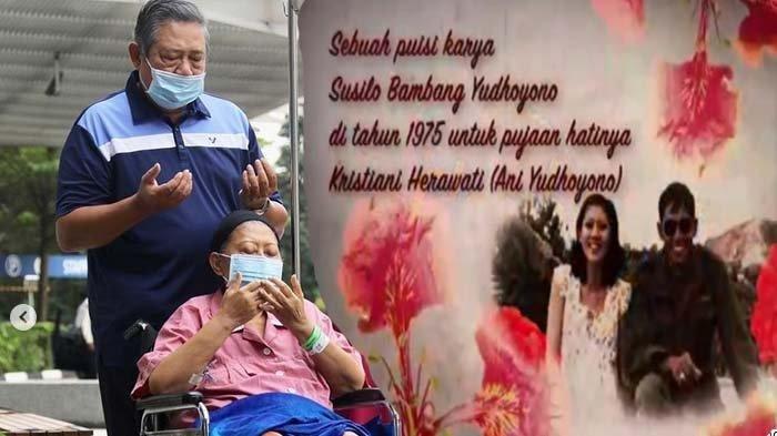 Detik-detik Meninggalnya Ani Yudhoyono Sempat Meneteskan Air Mata Saat SBY Bisikan Kalimat Sayang