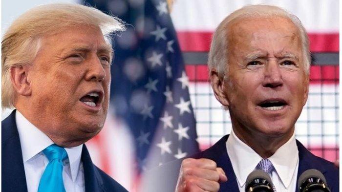 Donakd Trump dan Joe Biden di Pilpres AS 2020