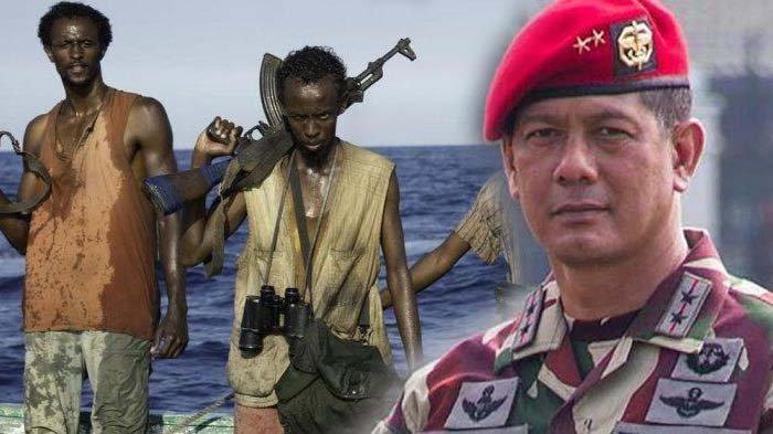 AKSI Doni Monardo Kala Jalani Misi Bareng Kopassus, Denjaka dan Kopaska Lawan Perompak Somalia