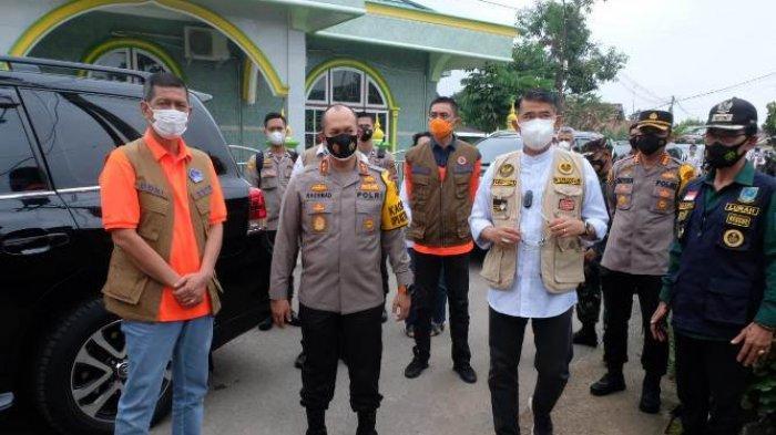 Datang ke Jambi, Kepala BNPB Doni Munardo Sempatkan Diri Kunjungi Zona Merah di Payo Selincah