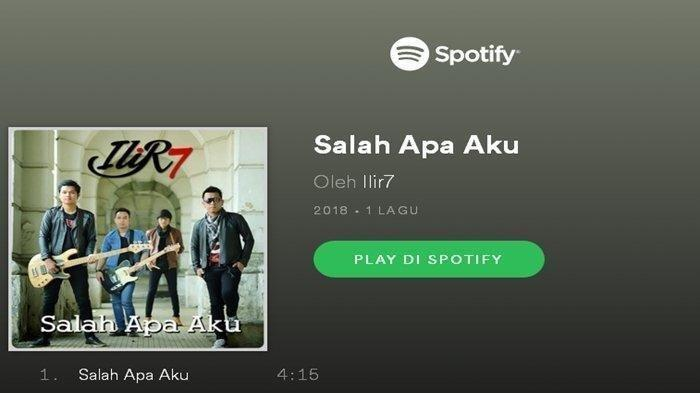 Download Lagu MP3 ILIR 7 Judul Entah Apa yang Merasukimu Versi Koplo dan Lirik, Unduh Disini