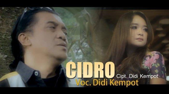 Download Lagu MP3 Cidro Didi Kempot Ada Lirik dan Chord Kunci Gitar, Tembang Wajib Sad Boy, Sad Girl