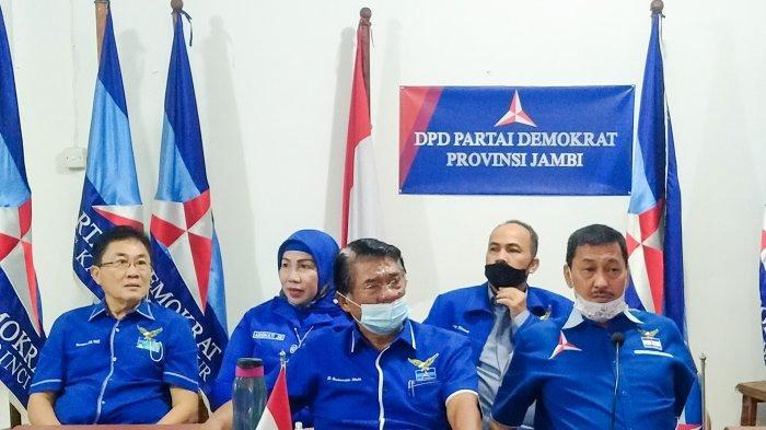 Kepengurusan Partai Demokrat se-Provinsi Jambi Buat Surat Pernyataan Mendukung AHY