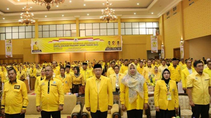 Prediksi Ramhan, Ada Tiga Kandidat dan Tiga Kader Golkar yang Ikut Bertarung di Pilgub Jambi 2020