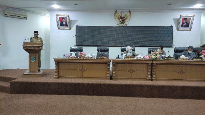 DPRD Batanghari Gelar Rapat Paripurna Ranperda RPJMD 2021-2026