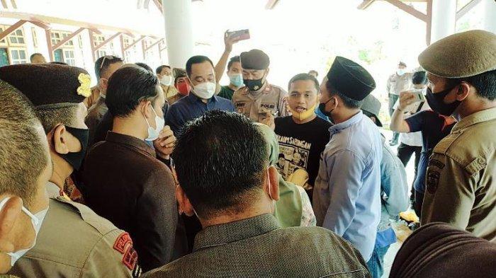 Demo Masalah PETI di DPRD Bungo Jambi Memanas, Masyarakat Nilai Dewan Tak Serius