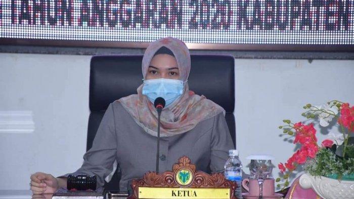 DPRD Batanghari Gelar Paripurna Penyampaian Pemandangan Umum Fraksi pada Nota Pengantar LKPD 2020
