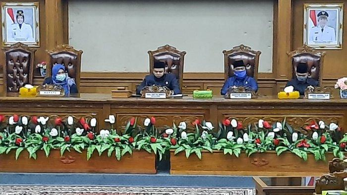 DPRD Muarojambi Rapat Paripurna, Bahas Kebijakan Umum Anggaran 2021