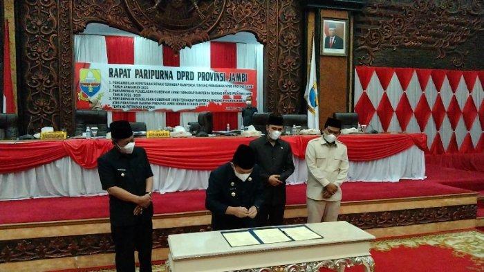 APBD-P Provinsi Jambi 2021 Sudah Disahkan, Edi Purwanto: OPD Harus Kawal