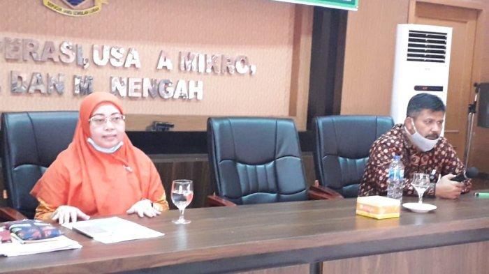 Dr Puti Oryzawaty menjadi narasumber pada FGD perlindungan dan penguatan usaha koperasi