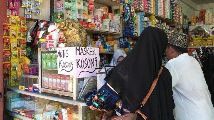 Alkohol, Hand Sanitizer dan Masker Lenyap dari Kuala Tungkal Karena Corona Sejak Dua Bulan Lalu