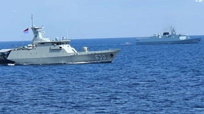 China Coba Memancing Amarah Indonesia? Kapal Perang PLA Navy Kepergok Melintas di Perairan NKRI