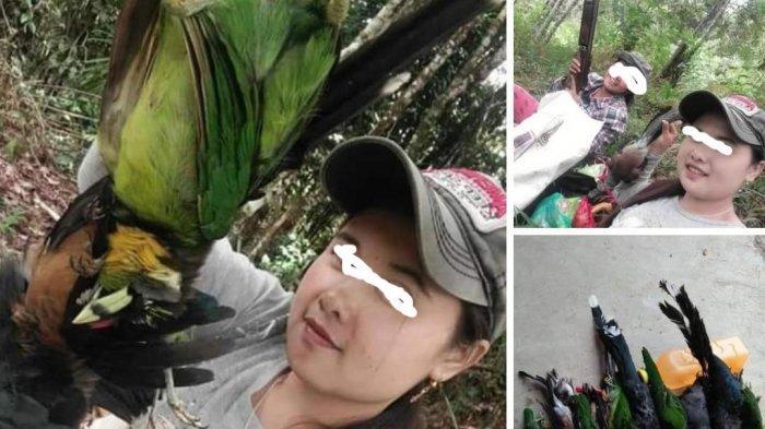HEBOH Dua Wanita Pemburu Burung Yang Dilindungi di Kerinci, Warganet Minta Aparat Cepat Bertindak