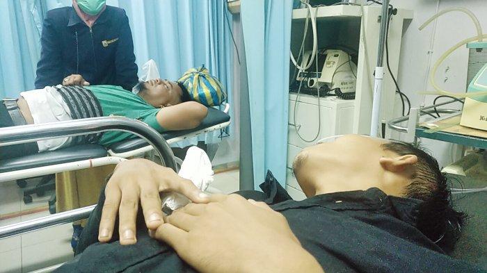Dua orang wartawan liputan Kabupaten Bungo mendapatkan serangan oleh sekelompok orang tak dikenal, Sabtu (29/5).