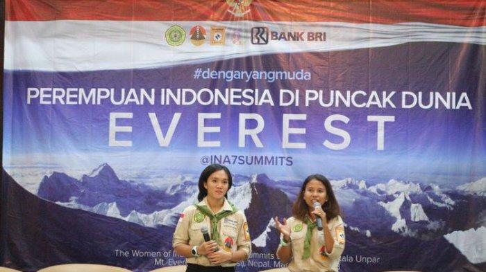 2 Perempuan Cantik Indonesia Ini Sedang Naik Gunung Everest, Jalan 1 Langkah Butuh 4 Helaan Napas