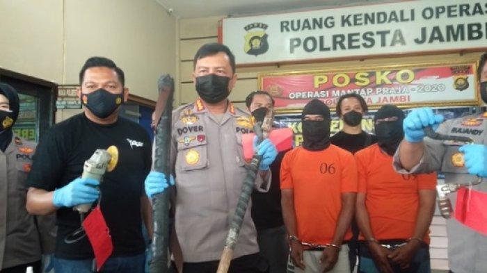 Dua Spesialis Pembobol Alfamart Lintas Daerah di Jambi Diringkus, Polisi Temukan 6 TKP