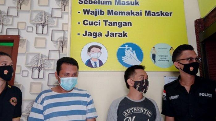 Hendak Pesta Sabu Bersama Teman, Dua Warga Kota Jambi Malah Terciduk Satresnarkoba Polres Tanjabtim