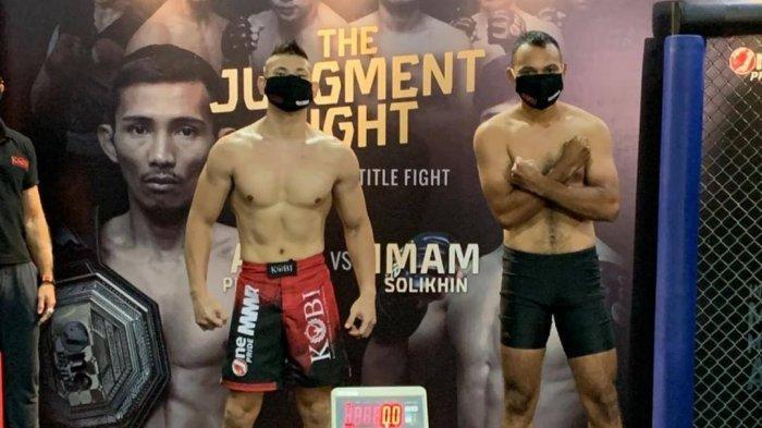 Sesaat Lagi! Pertarungan Rudy Gunawan vs Alex Munster di One Pride MMA TV One, Siapa Pemenangnya?