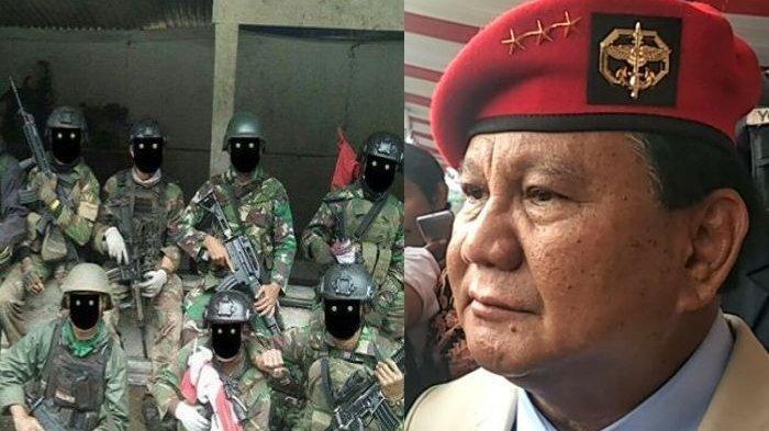 Duet Prabowo dan Luhut Binsar Bentuk 'Pasukan Siluman' Kopassus, Skill dan Kekuatannya Jadi Misteri