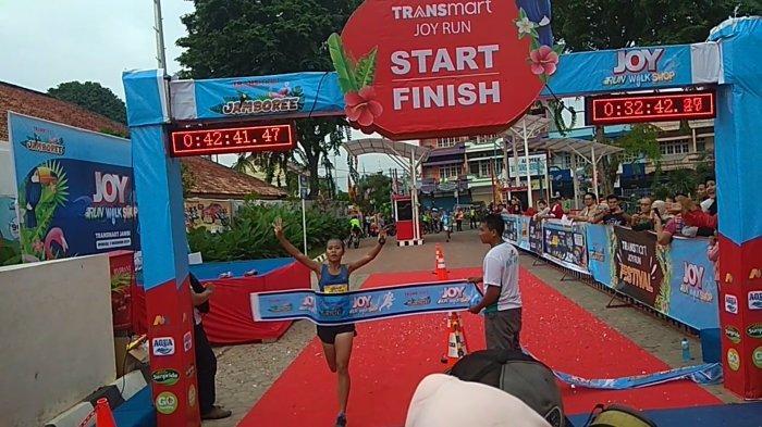 DIIKUTI Ribuan Peserta, Ini Hasil Joy Run  2019 Transmart Jambi