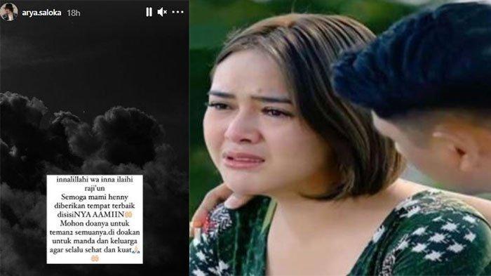 Dukungan Arya Saloka untuk Amanda Manopo yang Berduka: Didoakan untuk Manda dan Keluarga
