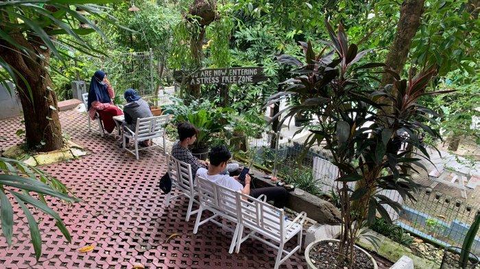 Ngopi di Duniawi Coffee, Coffe Shop di Jambi Tawarkan Nuansa Alam
