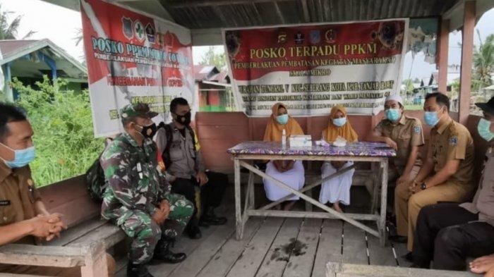 PPKM Mikro di Tanjabbar, Satgas Covid-19 Desa Dimaksimalkan untuk Jaga Zona Wilayah