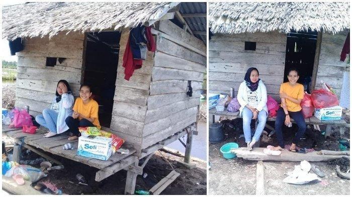 Kisah Kakak dan Adik Pilih Karatina Mandiri di Sebuah Gubuk, Agar Virus Corona Tak Nular ke Keluarga