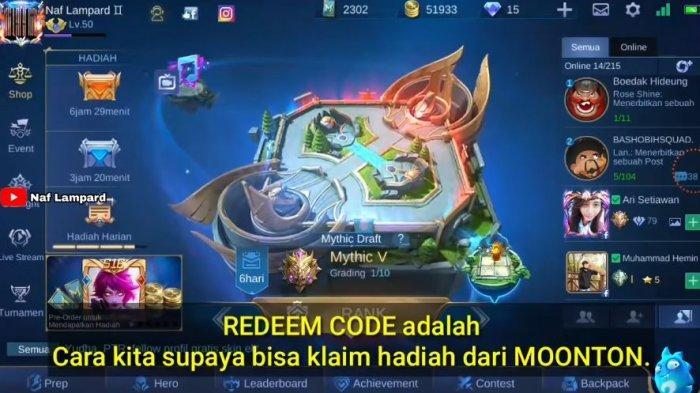Kumpulan Kode Redeem Mobile Legends Harian 14 Januari 2021, Bisa Dapat Hadiah Menarik hingga Skin?