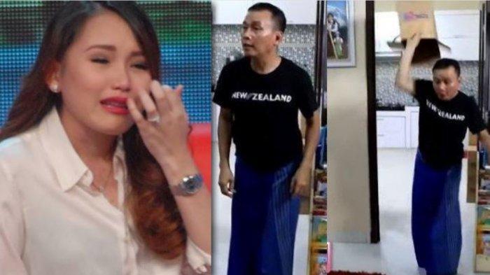Ayu Ting Ting Menangis Sampai Diantar Abdul Rozak dan Umi Kalsum Pulang Usai Batalkan Pernikahannya