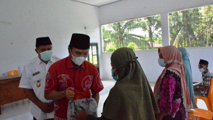 Pantau Realisasi Bansos Tunai Diterima Masyarakat, Ketua DPRD Jambi ke Sarolangun & Merangin