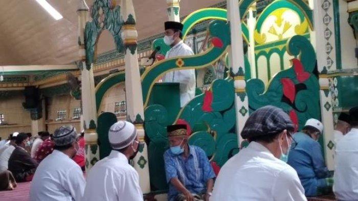 Khutbah di Masjid Sungai Penuh, Ini Pesan Edi Purwanto pada Jamaah