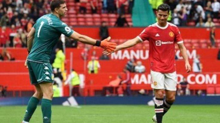 VIDEO Kiper Aston Villa Provokasi Striker Man United Cristiano Ronaldo Untuk Ambil Tendangan Penalti