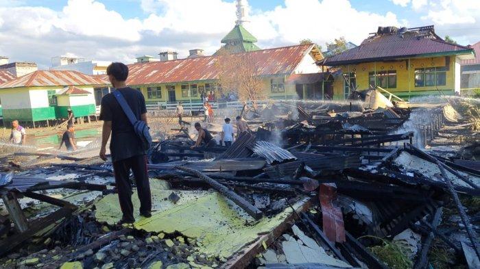 Empat Ruang Kelas di SD 16 Nipah Panjang Terbakar, Disdik Tanjabtim Langsung Lakukan Inventarisasi