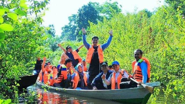 Asyiknya Wisata Ke Kanal Kuno Komplek Percandian Muara Jambi Tribun Jambi