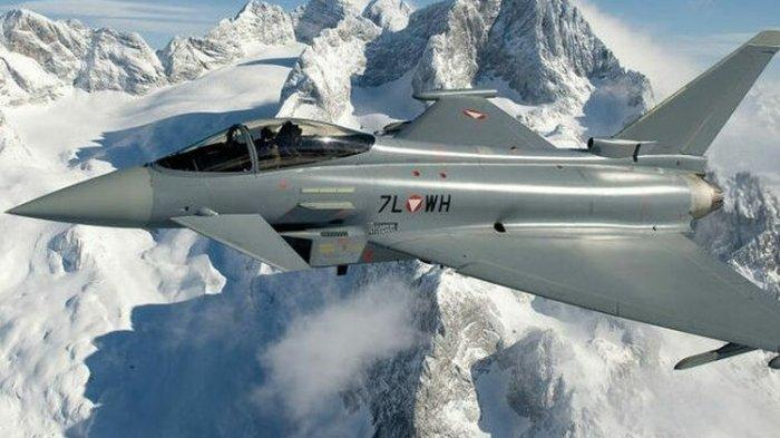 Ketangguhan Jet Tempur Eurofighter Typhoon Bekas Austria yang Akan Dibeli Menhan Prabowo