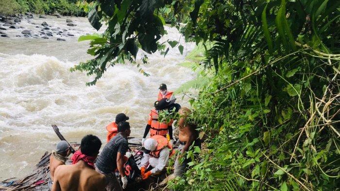 Mayat Mengapung di Batang Merangin Berhasil Dievakuasi, Kondisi Tak Berbaju
