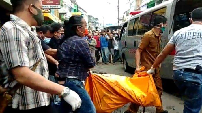 Evakuasi Mayat Terpanggang di Ruko Kawasan Gang Siku Memakan Waktu Tiga Jam