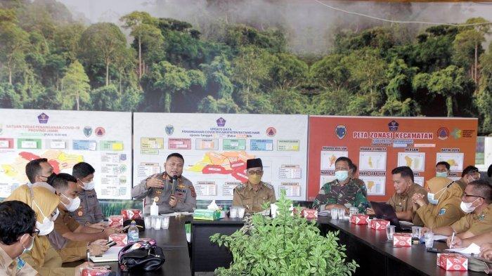 Evaluasi PPKM Level 4 di Batanghari, Wakil Bupati Sorot Percepatan 3T